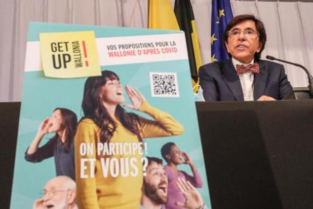 Get up Wallonia: 6.000 contributions citoyennes enregistrées jusqu'à présent