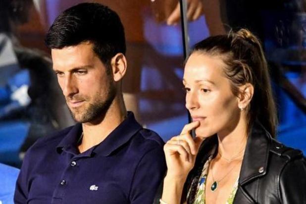 Novak Djokovic confirme sa présence au tournoi de Cincinnati et à l'US Open