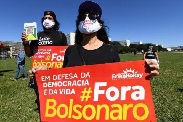 Brésil: taux de rejet record pour Bolsonaro