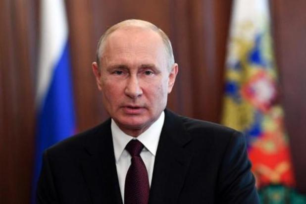 """Washington estime que Poutine veut rester au pouvoir """"à vie"""""""
