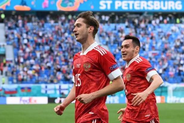 Finland kan niet opnieuw verrassen en lijdt nederlaag in Rusland