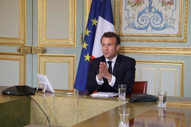 """Coronavirus - Macron juge """"indispensable"""" un moratoire sur la dette des pays africains"""