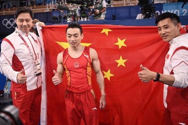 Chinees Zou Jingyuan pakt olympische titel aan brug met gelijke leggers