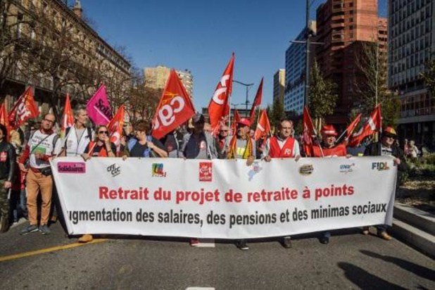 Franse bonden willen morgen massaal protest tegen pensioenplan