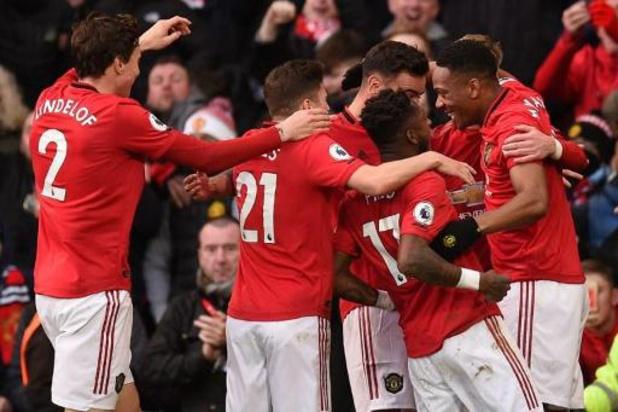 Premier League - Manchester City verliest zonder De Bruyne de stadsderby bij United