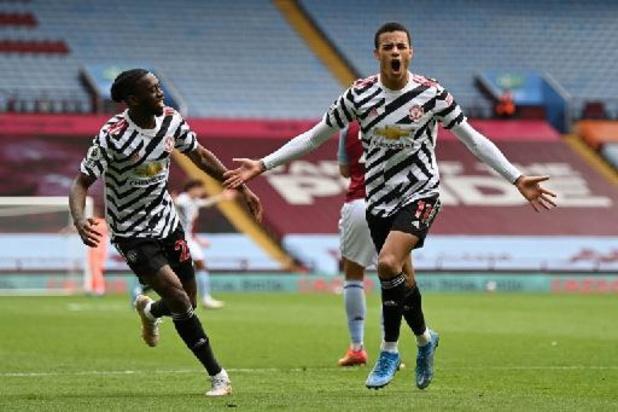 Premier League - Manchester United s'impose à Aston Villa et retarde le sacre de City