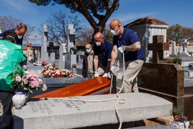 Coronavirus - L'Espagne interdit toute cérémonie funéraire