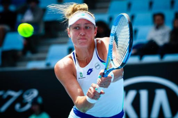 Yanina Wickmayer en demi-finale du double