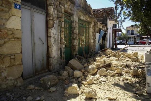 Grèce: le Premier ministre en Crète, secouée par des répliques du séisme