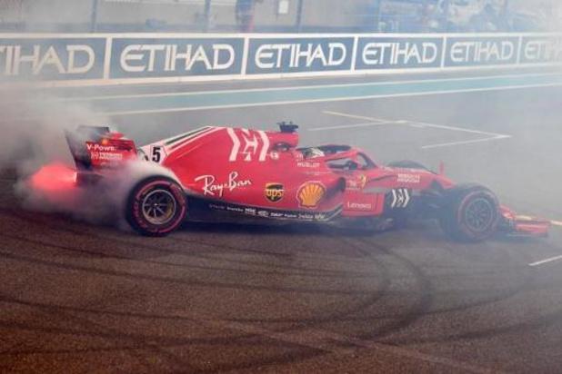 Vettel et Leclerc de retour en piste mardi avec la Ferrari de 2018