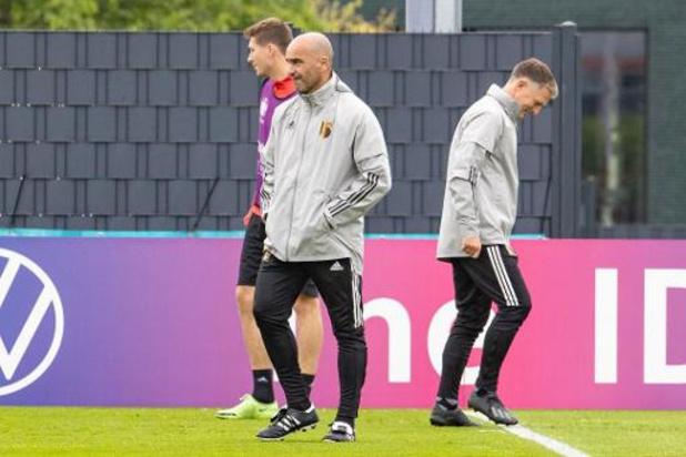La première sélection 'post-Euro' de Roberto Martinez le 26 août