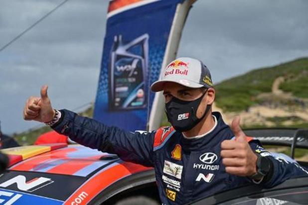 Dani Sordo wint Rally van Sardinië, Neuville eindigt als tweede