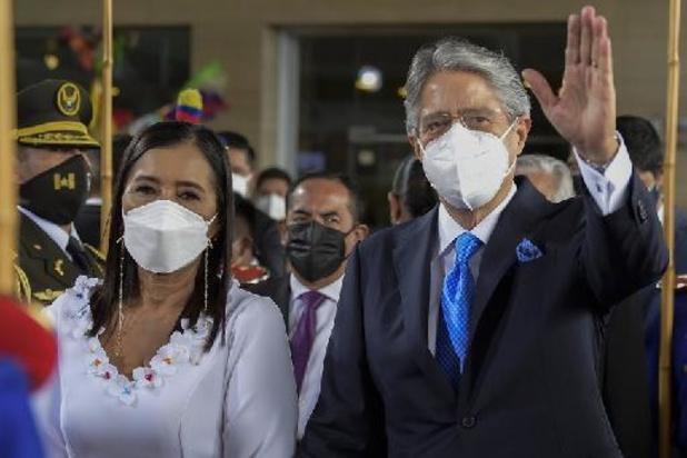 Equateur: investiture de Guillermo Lasso à la présidence de la République