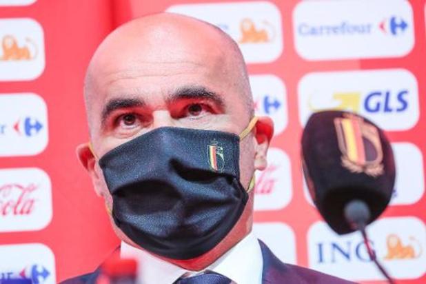 La sélection de Roberto Martinez
