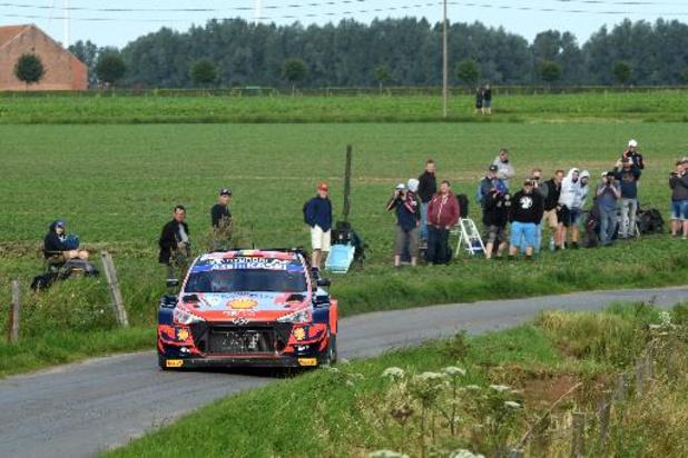 WRC - Rallye d'Ypres - Thierry Neuville reste en tête à la fin de la première journée