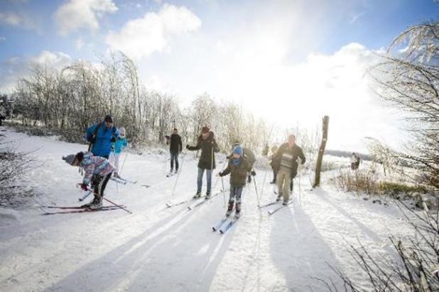 Skiën in de Ardennen wordt verboden