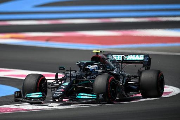 Mercedes domine la 1re séance d'essais libres avec Bottas devant Hamilton