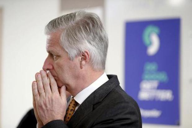 De brief van koning Filip: 'Wonden uit het verleden worden weer pijnlijk voelbaar'
