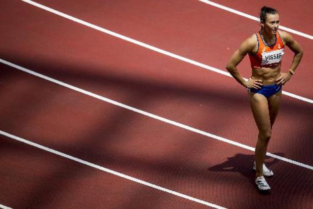 Mémorial Van Damme - Le 100m haies pour la Néerlandaise Nadine Visser, Anne Zagré 6e en 12.96 devant Noor Vidts