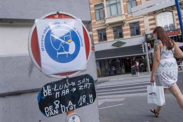 België lichter gekleurd op Europese coronakaart