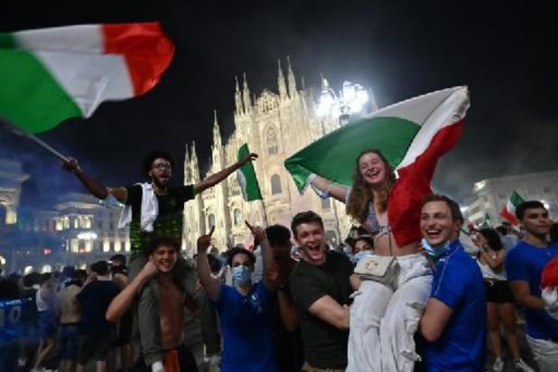Verschillende gewonden in Milaan na overwinning van Italië in Euro 2020