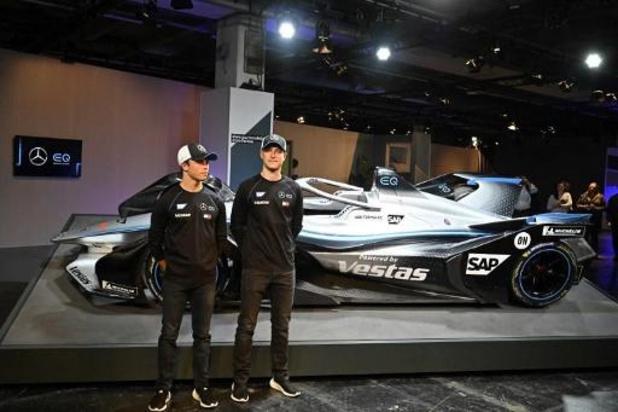 Stoffel Vandoorne eindigt in openingsrace Formule E in Saoedi-Arabië als derde
