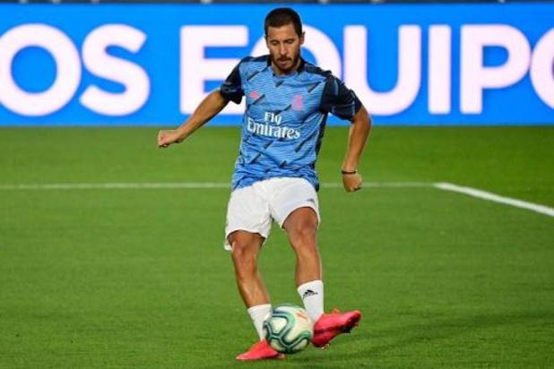 Eden Hazard pas retenu pour le match du Real à Getafe