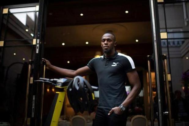 Usain Bolt te gast bij opening olympisch stadion in Tokio