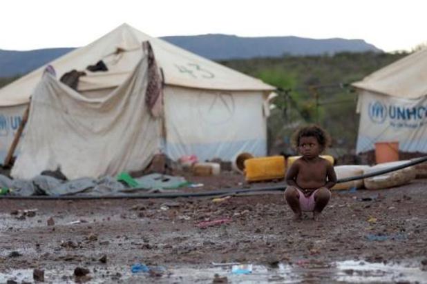 Hongerdood dreigt voor honderdduizenden kinderen in Jemen