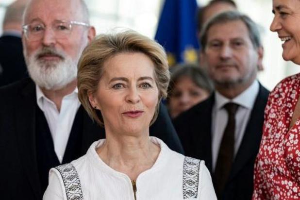 Ursula von der Leyen bezorgd om bezuinigingen in compromisvoorstel EU-meerjarenbegroting