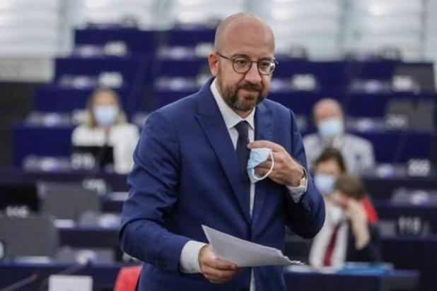 """Charles Michel waarschuwt Londen: EU bereid """"alle middelen"""" in te zetten"""