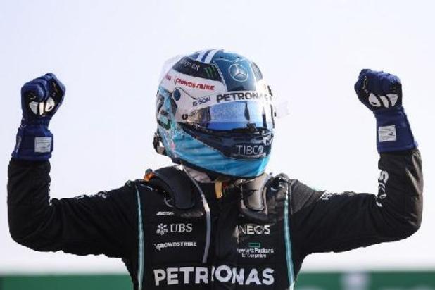 GP d'Italie: Valtteri Bottas gagne la course sprint, Verstappen, 2e, prend deux points à Hamilton