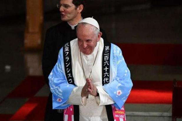 Paus roept op tot meer hulp voor Fukushima-slachtoffers