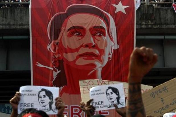 Raid Myanmarese leger op de partijzetel van Aung San Suu Kyi