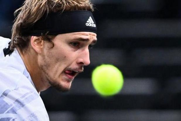 ATP Parijs - Alexander Zverev houdt Rafael Nadal uit finale
