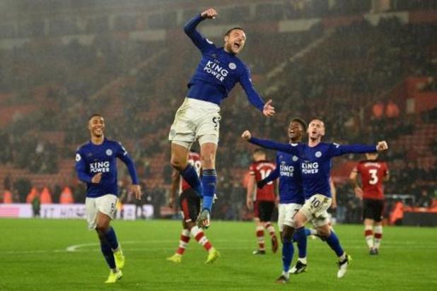 Belgen in het buitenland - Leicester City boekte grootste PL-uitzege ooit tegen Southampton: 0-9