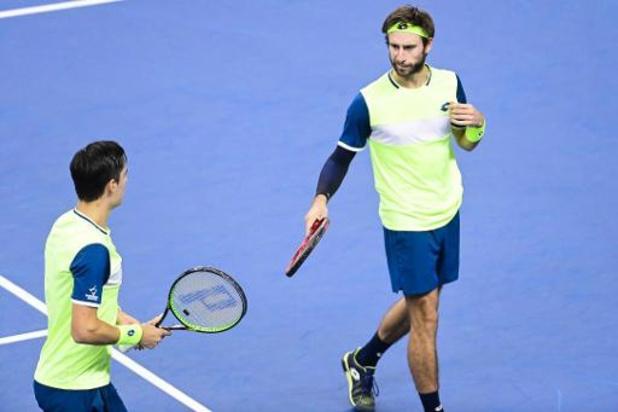 Sander Gillé en Joran Vliegen plaatsen zich voor vijfde ATP-finale