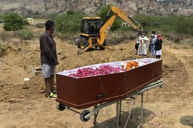 India meldt wereldwijd recordaantal doden op dagbasis