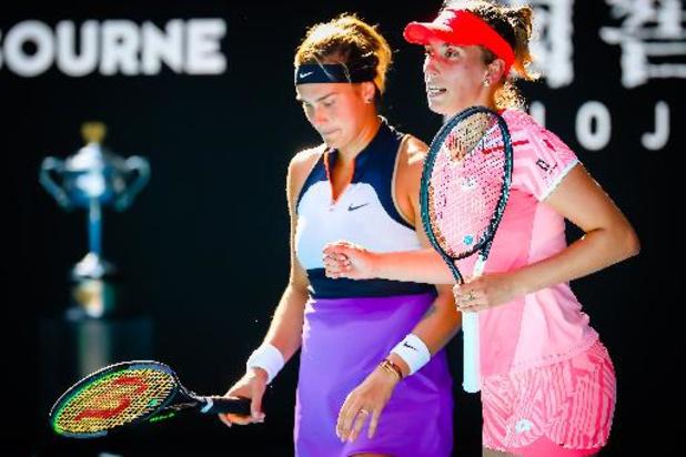 US Open - Elise Mertens retrouvera Aryna Sabalenka, numéro 2 mondiale, en 8es de finale