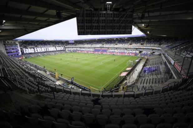 Retour du public dans les stades pour la cinquième journée du championnat de Belgique de football