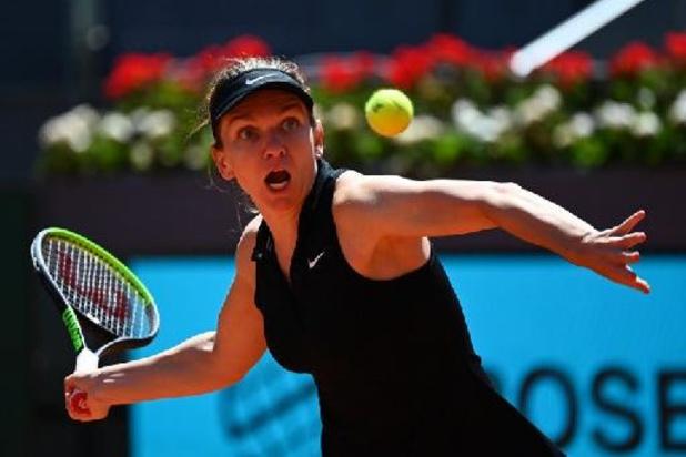 """WTA Madrid - Mertens """"a mérité de gagner car elle était la meilleure à la fin"""", reconnaît Halep"""