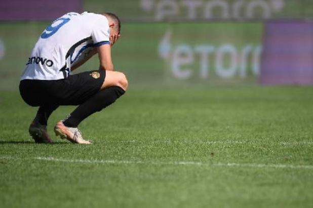L'Inter accrochée par la Sampdoria avant le Real Madrid en Ligue des Champions