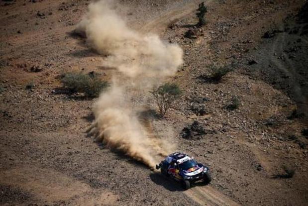 Dakar: Carlos Sainz (MINI) vainqueur auto de la 1re étape après un duel avec Peterhansel