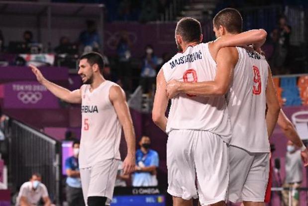 Euro de basket 3x3 - La Serbie titrée chez les messieurs, l'Espagne chez les dames