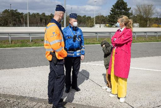 Minister Verlinden bezoekt grenscontroles in regio Turnhout
