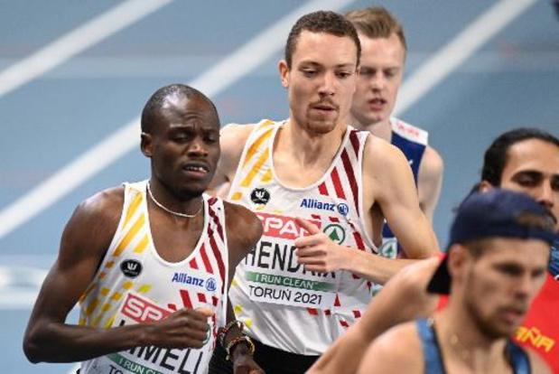 JO 2020 - Robin Hendrix n'est pas certain qu'Isaac Kimeli sera au départ du 5000 m avec lui