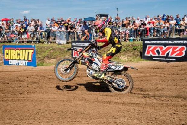 """Championnat du monde de motocross : """"peut-être le dernier Grand Prix de ma carrière"""" annonce Kevin Stijbos après le GP de Chine"""