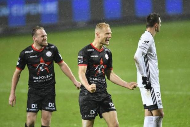 Jupiler Pro League - Zulte Waregem haalt dubbele achterstand op en wint bij Eupen
