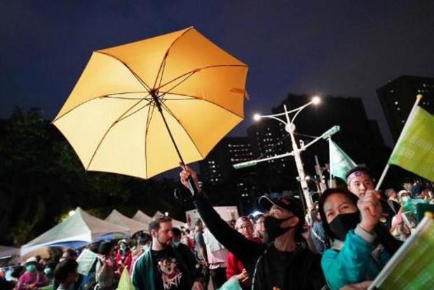 Vuurwerk Chinees Nieuwjaar afgelast in Hongkong