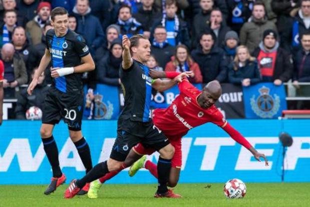 Club Brugge knokt zich naar late zege tegen een stug Antwerp